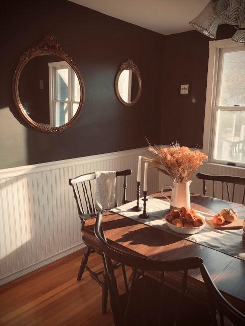 Sala da pranzo vintage
