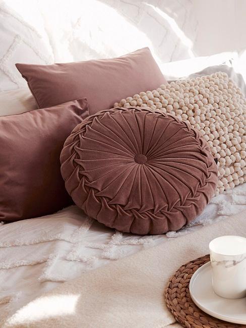 rosa cuscini