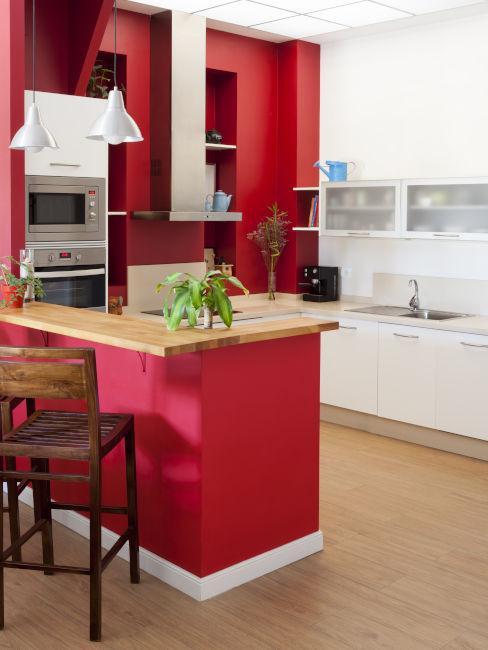 Cucina color vinaccia