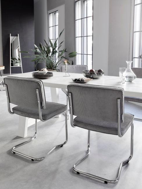 Sala da pranzo argento