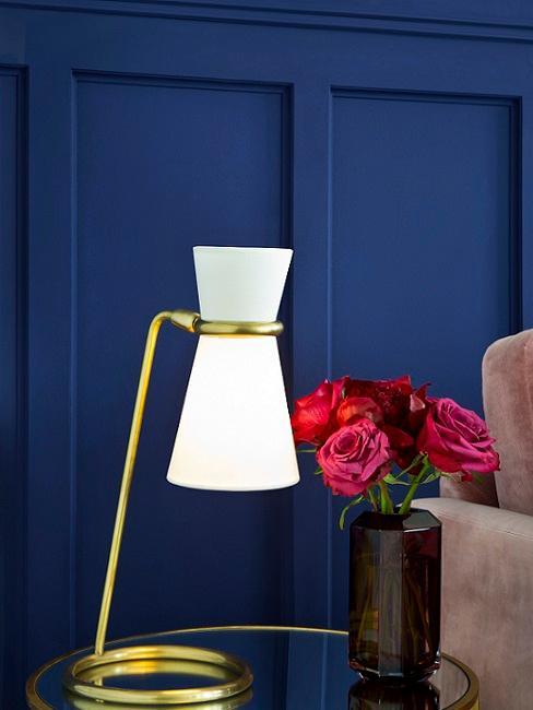soggiorno decorazioni blu