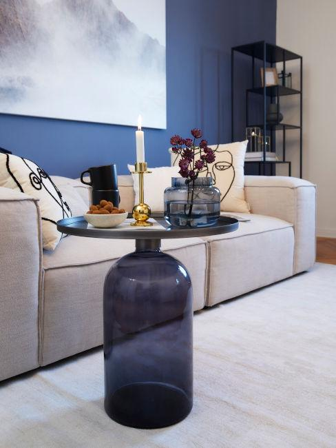 Come usare il colore indaco in soggiorno