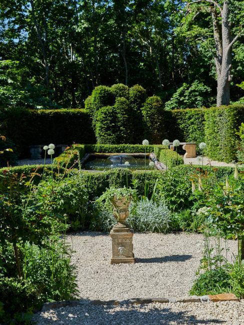 Esempio di layout per giardino