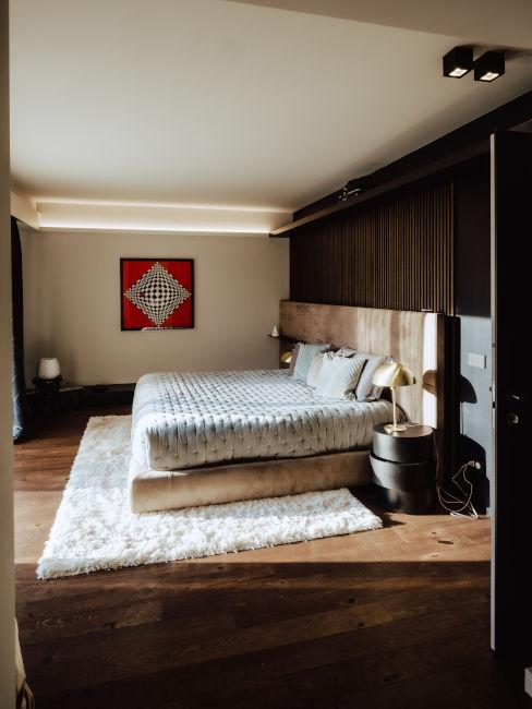 Camera da letto di Cristina Chiabotto