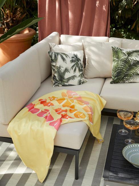 Esempio area relax da giardino