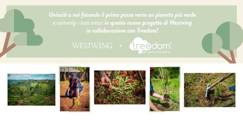Invita un amico su Westwing e pianta un albero Treedom