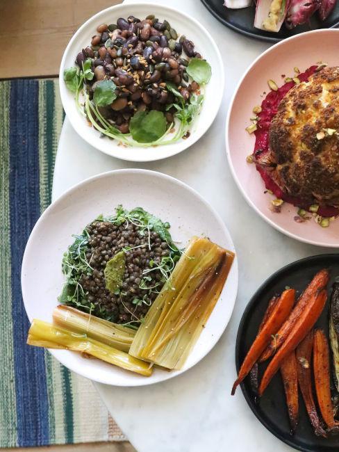 spinaci e verdure ricche di ferro