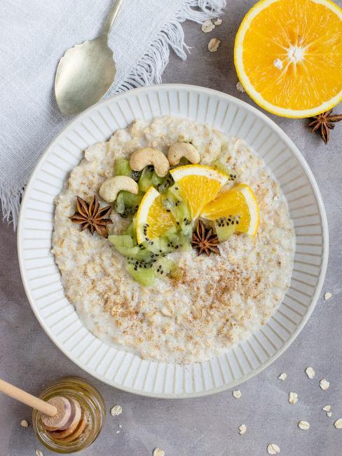 porridge caldo idee colazione