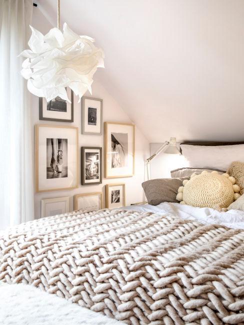 camera da letto in stile zen