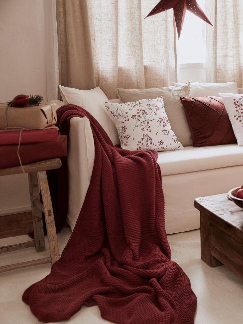 tessili soggiorno rossi
