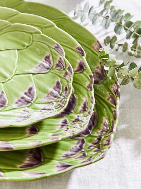 piatti verdi