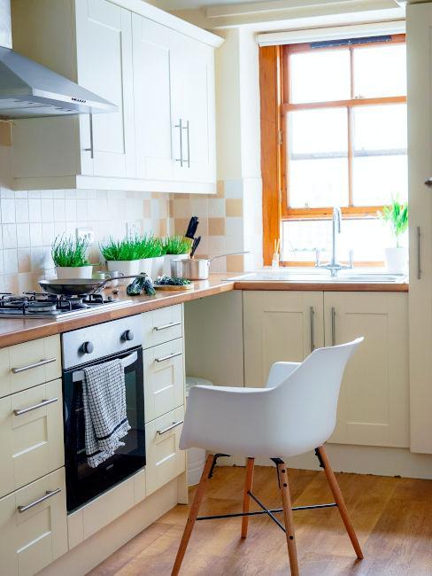 pavimentazione parquet per cucina