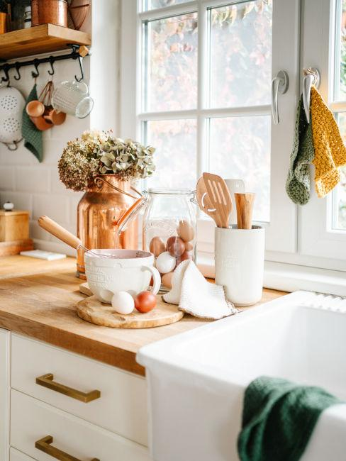 stile rustico per cucina