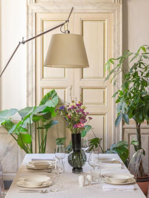 Sala da pranzo classica moderna