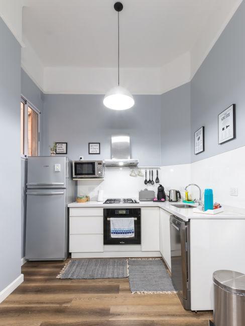 cucina piccola ad angolo