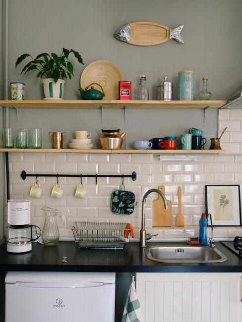 pensili in cucina