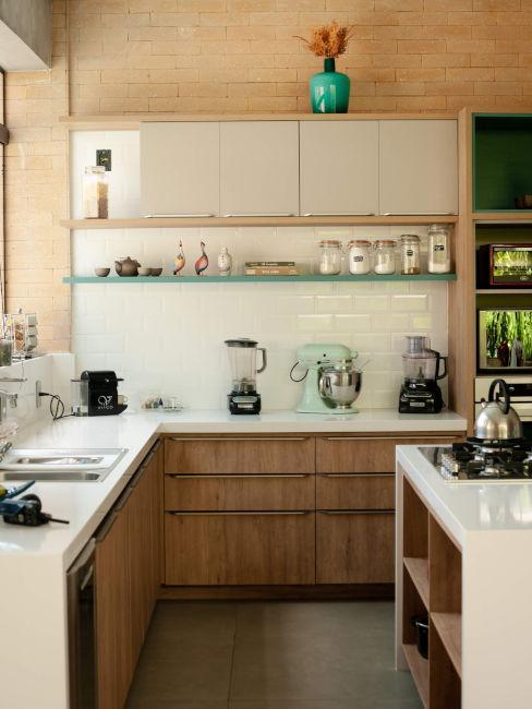 Come arredare una piccola cucina abitabile