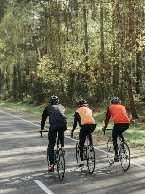 giri in bici con gli amici