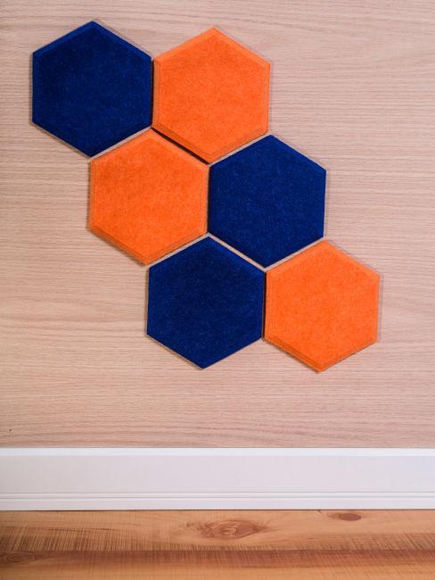 Pannelli fonoassorbenti colorati