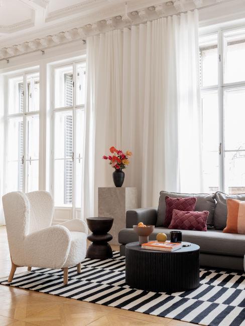soggiorno classico moderno