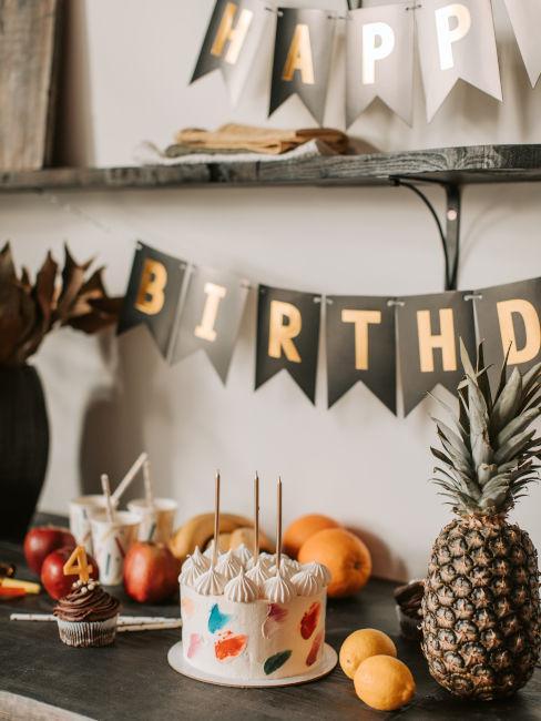 come organizzare una festa di compleanno a casa
