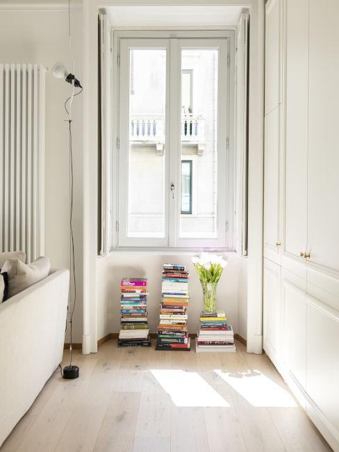 Arredare con libri e riviste