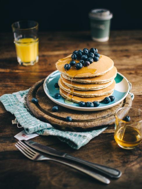 colazione con pancake