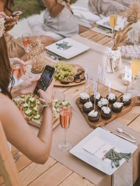 buffet per festa