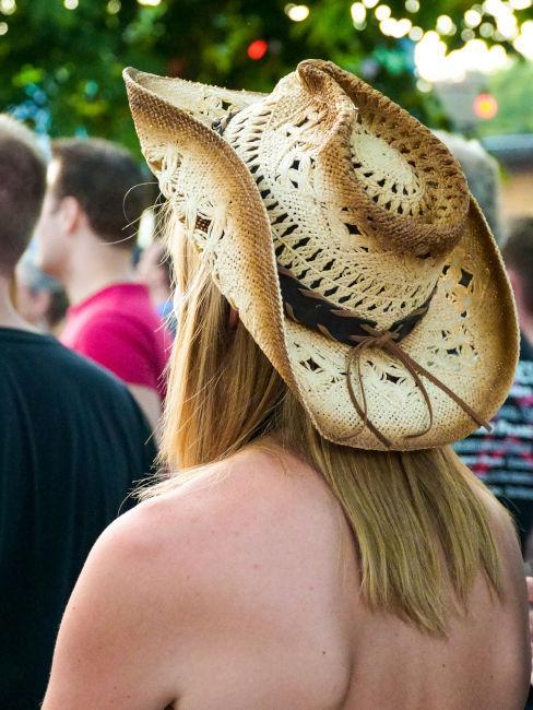 cappello da cowboy per festa a tema