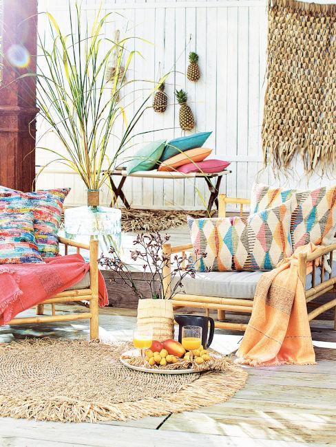 Tendenze outdoor 2021: tessili colorati