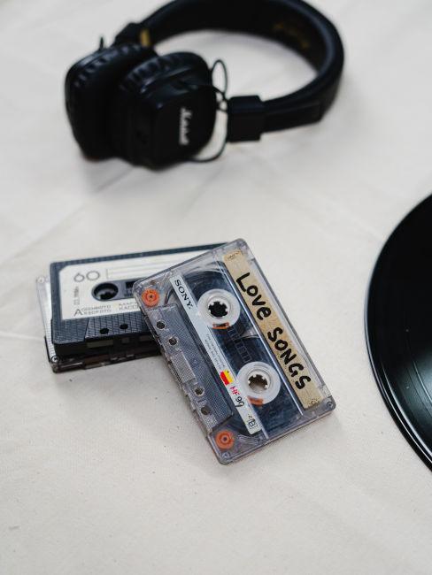cassette musica oggetti decorativi anni '90