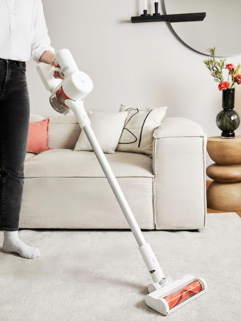 aspirapolvere per pulizia tappeti e superfici