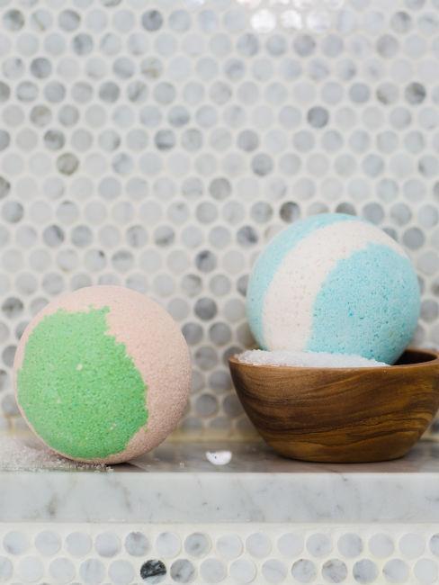 Bombe da bagno colorate