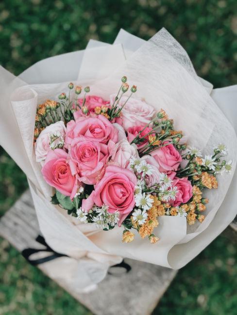 bouquet di fiori come idea regalo per maestre
