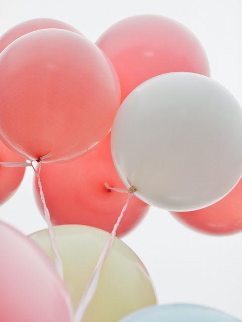palloncini rosa per festa