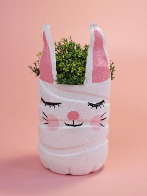 Vaso a forma di coniglio