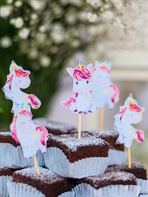 Decorazioni unicorno per festa