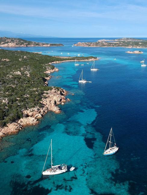 il mare isola della Maddalena, Sardegna
