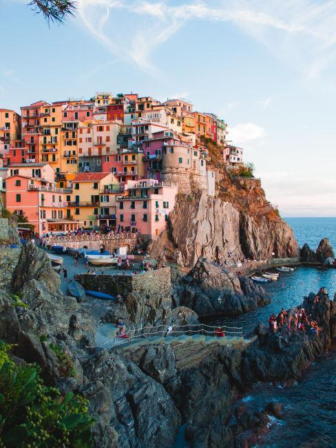Cinque terra meta dove andare al mare in italia