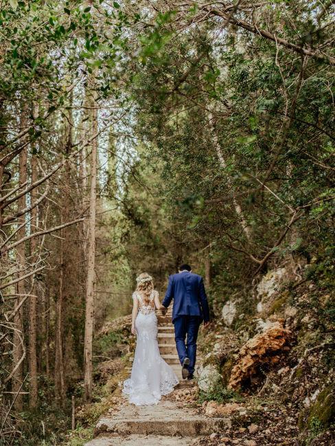 matrimonio nel bosco