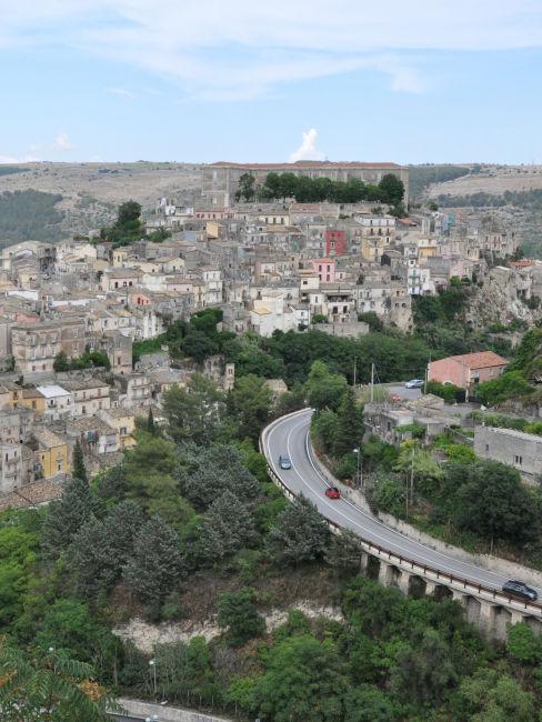 Strada in Sicilia
