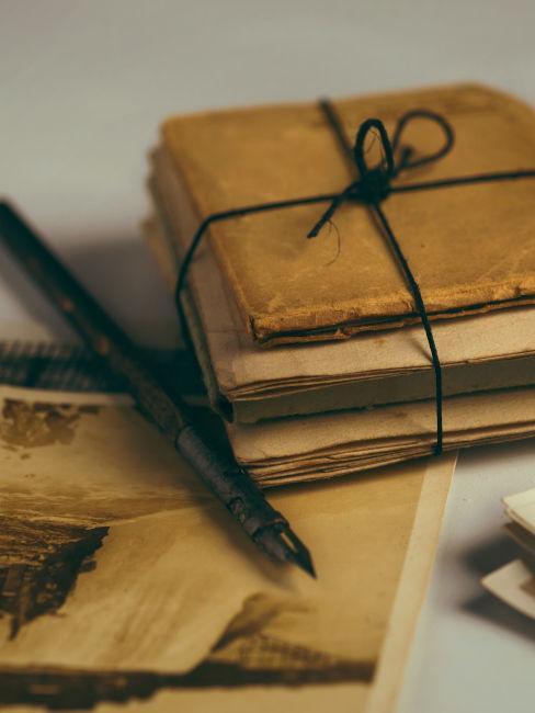 carta da lettere vintage