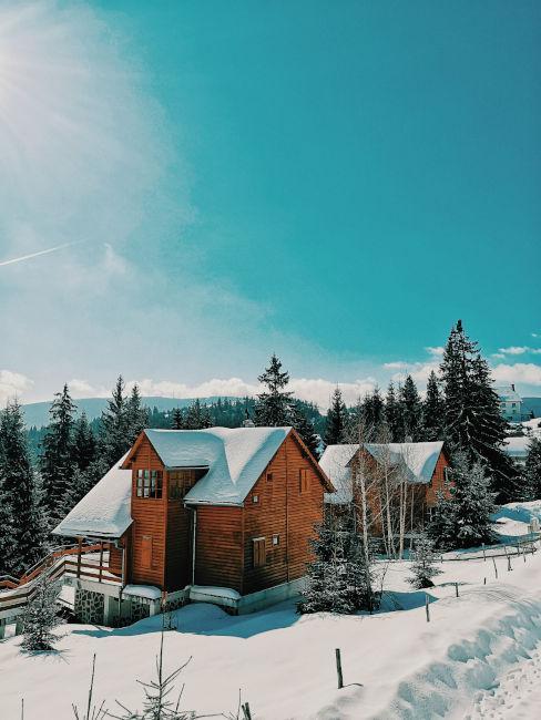 location per matrimonio in inverno in montagna