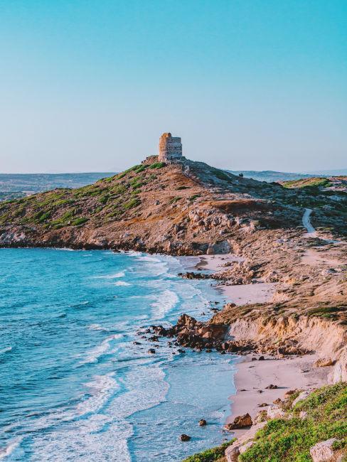 scogliera in Sardegna