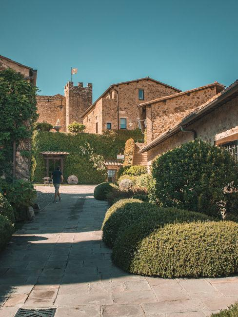 borgo medievale in Italia