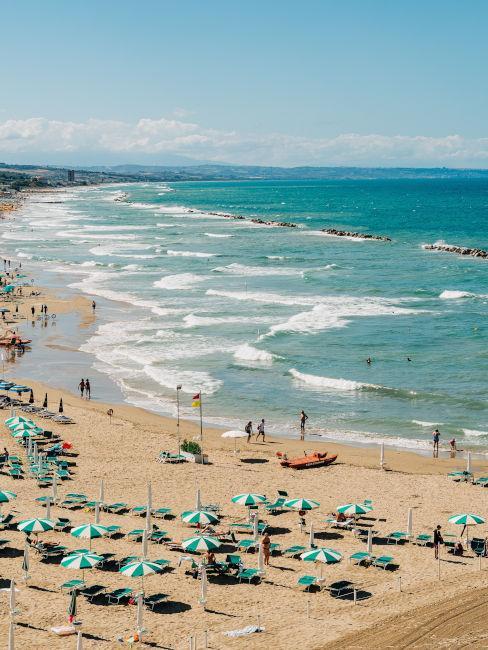 Spiaggia di Termoli in Molise