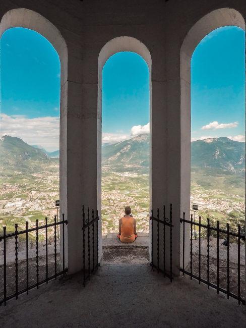 Punto panoramico a Riva del Garda
