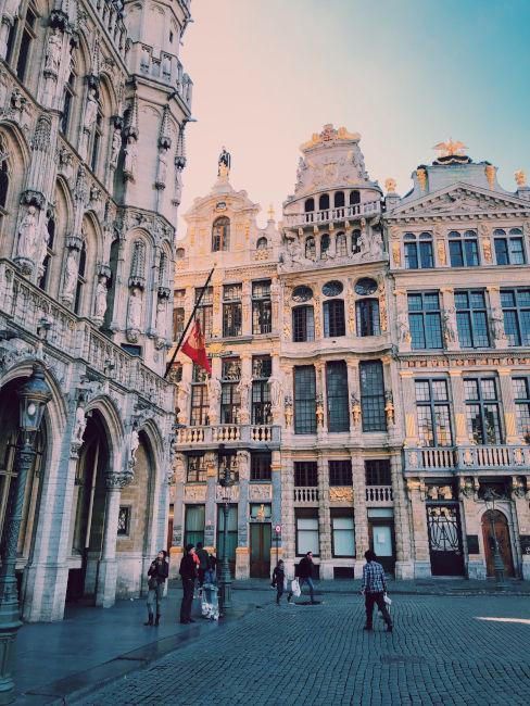 piazza principale bruxelles