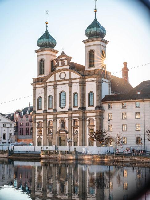 cattedrale di Lucerna in Svizzera