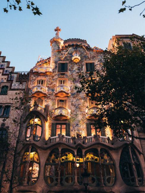 casa di Gaudì a barcellona